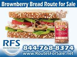 Brownberry Bread Route, North West WI