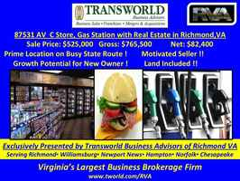 87531-RB Gas Station Cstore with Property