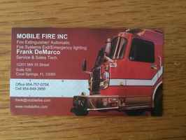 Fire Equipment Dealer C & D License Shop