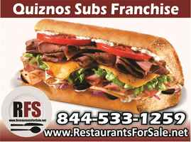 Quiznos Sub Franchise Resale, Greater Baltimore