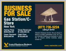 Gas Station and Convenience-Store For Sale-30704