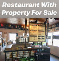American BBQ Restaurant with Property For Sale