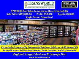 977509 RB-Profitable Convenience Store in Norfolk