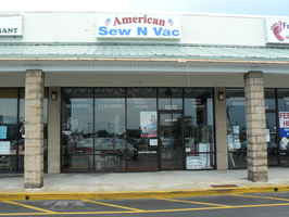 Vacuum/Sewing Machine Store