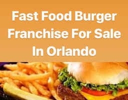 Fast Food Franchise Restaurant For Sale in Orlando