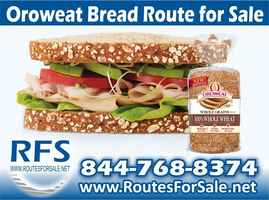 Oroweat and Mrs. Bairds Bread Route, N Richlands