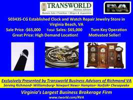 503435-CG Established Clock and Watch Repair