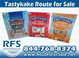 Tastykake Distribution Route, Havertown, PA