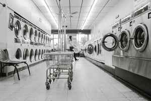Full-Service Laundromat with Drop-Off Dry Cleaning