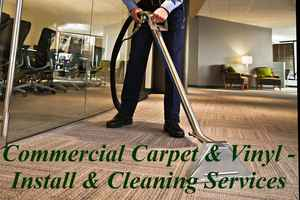 Commercial Carpet, Flooring Install & Cleaning