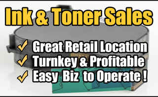 Profitable Ink & Toner Sales Biz For Sale