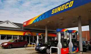 Sunoco Gas station with Convenience-store