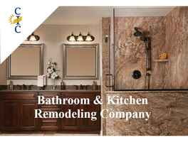 Highly Profitable Bathroom & Kitchen Remodeling Co