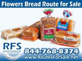Flowers Bread Route for Sale, Greenville, SC
