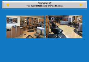 Two Profitable Branded Salons - Motivated Seller