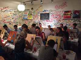 paint party, classes, wine - fun