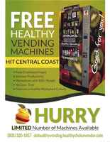 Healthy Snacks Vending Machines - Motivated Seller