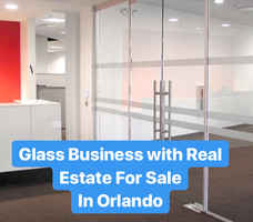 Light Manufacturing Glass Business For Sale