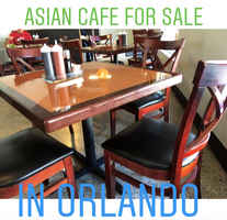 Asian Restaurant Cafe For Sale in Orlando