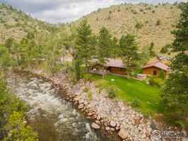 Poudre Canyon Riverfront Resort in Bellvue, CO