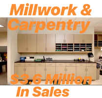 Millwork & Carpentry Business For Sale