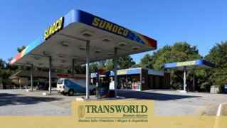 Freeway Exit Branded Gas Station C Store with RE