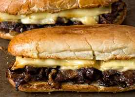 Busy Philly Steak Sandwich