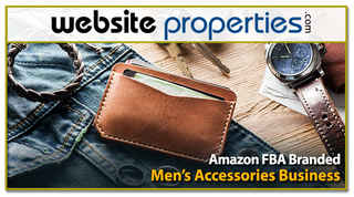 Amazon FBA Branded Men's Accessories Business