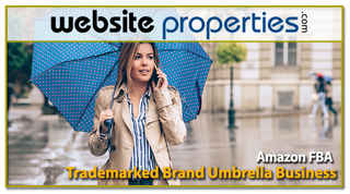 Trademarked Brand Umbrella Amazon FBA Business