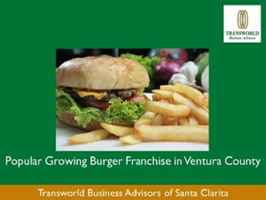 Popular Growing Burger Franchise