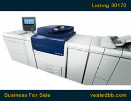 Printing Franchise - Price Reduced! - 30170