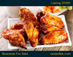 Chicken Wings Franchise in Prime Location  - 31501