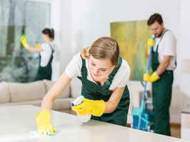 Privately Owned Cleaning Service with Linen Rental
