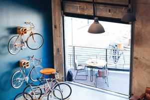 Bike and Coffee Shop
