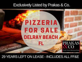 Delray Beach Italian Restaurant & Pizzeria For Sal