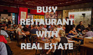 Iconic Lucrative Restaurant-Business & Real Estate