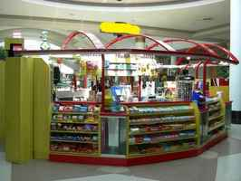 Convenience-Store Kiosk in Indoor Mall