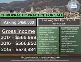 Los Angeles Chiropractic Practice for Sale