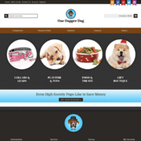 OneDapperDog.com - Online Dropship Business
