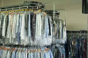 Dry Cleaners in Commercial Mall