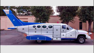 Advertising Airplane Car- A real head turner!