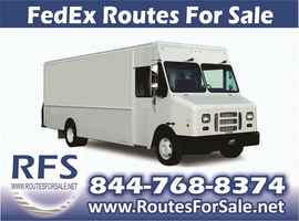 FedEx Delivery Routes for Sale, Wilmington, NC