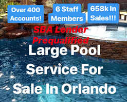 Large Pool Service Business For Sale in Orlando