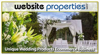 Unique Wedding Products Ecommerce Business