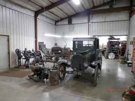 Antique Car Restoration Shop For Sale in Iola, KS