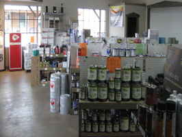 Auto Paint and Supplies with Real Estate
