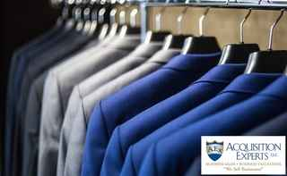 Dry Cleaning Business With Drop Stores