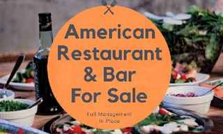 Contemporary American Restaurant & Bar for sale