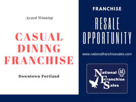 Award Winning Casual Dining Franchise