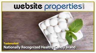 Trademarked Nationally Recognized Healthy Candy